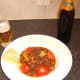 Indian Cobra beer goes very well with chicken leg bhuna