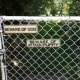 Attach signs to chain link fences.