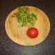 Watercress and tomato for salad garnish