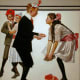 'Pardon Me (Children Dancing at a Party)' by Norman Rockwell (circa 1918)