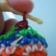 Do the same steps as sc to finish the decreasing stitch.