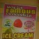 Crocodile ice cream advertisement at Davao Crocodile Park