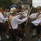 The Shakespeare Morris Side performing a stick dance