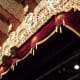 View of the stage at the Granada Theatre.
