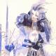 Ishida's illustration of Kuja from Final Fantasy IX.