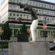 Sculpture in Wuppertal-Elberfeld, Germany