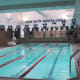 A heated swimming pool and exercise facility is also available at the Crowne Plaza Hotel.