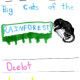 big cats of the rainforest layered book