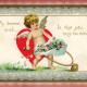 Vintage cherub clip art