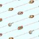 Victorian Mother's Day scrapbooking paper -- aqua background