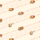 Free Victorian Mother's Day scrapbooking paper -- peach background with scroll work