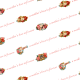 Free vintage Mother's Day scrapbook paper -- white background