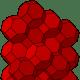 Bitruncated cubic honeycomb