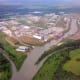 Tulsa Attractions: Ariel view of the Port of Catoosa
