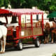 One mode of transportation in Rothenburg