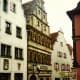 View of the Master Builder's House in Rothenburg