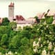 Views from the city wall in Rothenburg