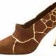 Giraffe inspired.