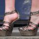 No heel high heels.