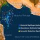 Sightings map of the vaquita