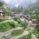 Beautiful Kugti village at Bharmour