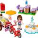 Olivia's Ice Cream Bike (41030)  Released 2014.  98 pieces.