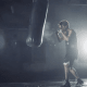 Jimin boxing.