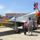 A P-51 Mustang at the Andrews Air Force Base, Joint Service Open House, May, 2012.