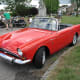 A 1965 Sunbeam Tiger.  Maxwell Smart used this model for the first 2 seasons.