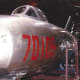 A MiG-15 at the Paul E. Garber Facility, Silver Hill, MD. 1997.