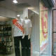 Promote sales and promotions in the window displays, don't forget to include your mannequins!