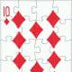 10 of diamonds