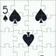 5 of spades playing cards clip art