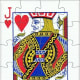 jack of hearts playing cards clip art