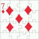 7 of diamonds clip art