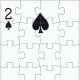 2 of spades puzzle effect