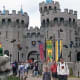 Full replica size castle at Legoland