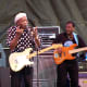 Buddy Guy singing with feeling. Photo by Blake Flannery