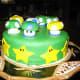 Mario Todd and Star Birthday Cake