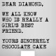 Funny meaning of chocolate poem