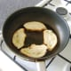 Frying bread to make croutons