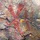 Nanabozho pictograph, Mazinaw Rock, Bon Echo Provincial Park, Ontario, Canada