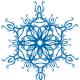 Snowflake clipart