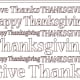 Subway Art - Give Thanks Thanksgiving Poster