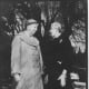 Eleanor Roosevelt and Clare Booth Luce in Rome, Italy - 16 March 1955