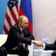 Presidents Trump and Putin.