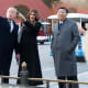 President Trump and First Lady Melania Trump in Beijing, with President Xi Jinping; 2017.