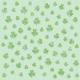 St.Patrick's Day shamrock green background scrapbook paper