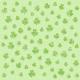 St.Patrick's Day shamrock light green background