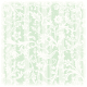 St. Patrick's Day green Victorian flowers and stripes scrapbook paper